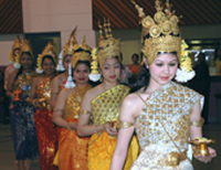 Cambodian New Year Celebration          of B.E.2549 or A.D.2005