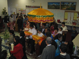 Kathin Saffron Robe Offering Ceremony 2005