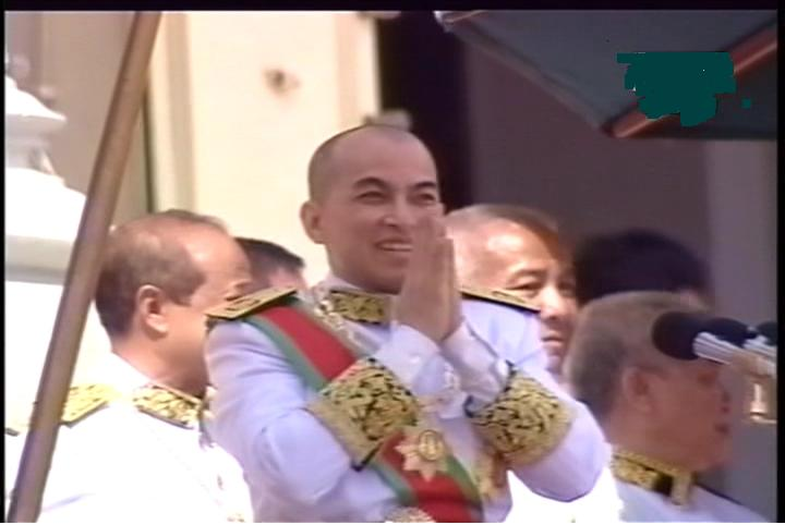 Prince Boromaneath Norodom Sihamoni Coronation Ceremony